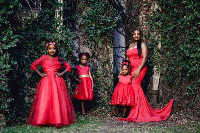 A Black Queen raising Black Queens.