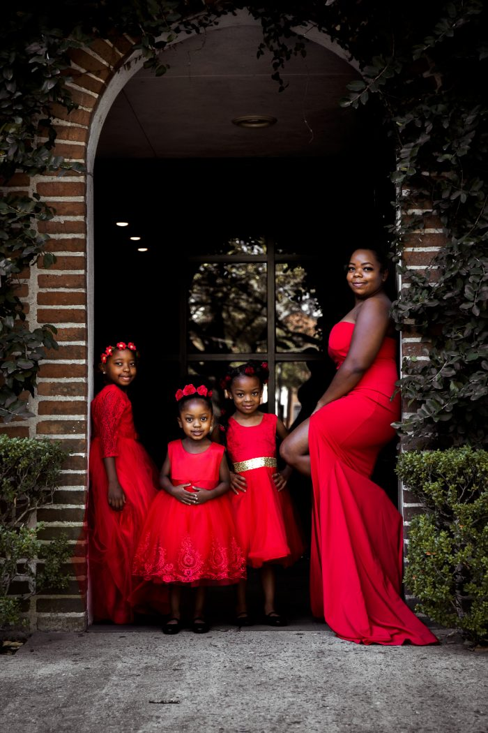A Black Queen raising Black Queens