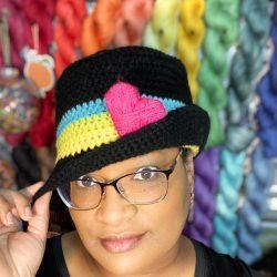 Dope Women Creating Crochet Hat