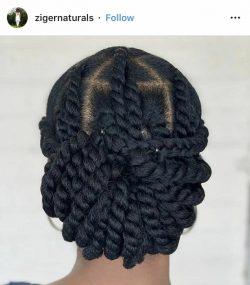 Protective hair 😍✨