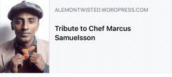 Chef tribute