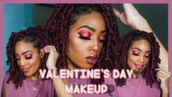 Valentine's Day Inspire makeup