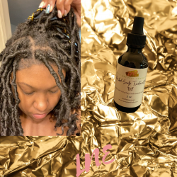 All natural and organic infused #hairgrowthoils that don't leave product build up when wearing # ...