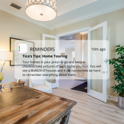 Tica's Tips: Home Touring