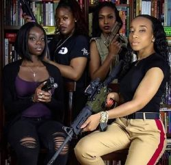 Every Black Woman Should Armed And Dangerous! Protect Black Women At All Costs! #BlackGunsMatter