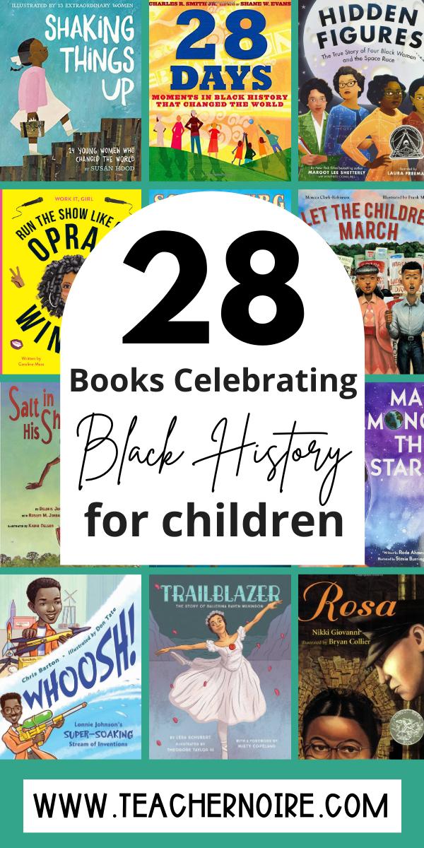 Books celebrating black history for children
