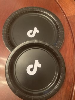 Customized TikTok Plates for A Party!!!