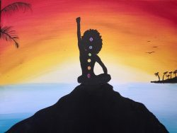 #chakrahealing #alignment #acrylic #yoga