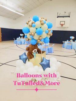 Teddy Bear Theme Balloon Decor