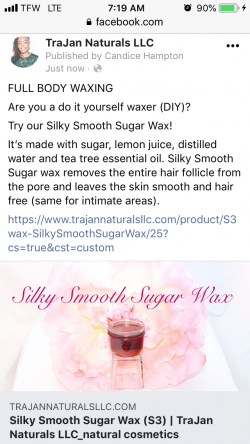 Silky Smooth Sugar Wax