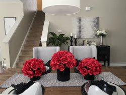 Tutorial for rose centerpieces from Dollar Tree