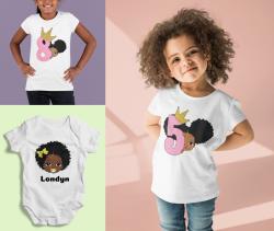 Personalized Kids shirts