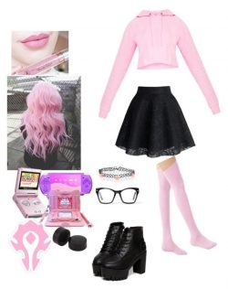 Gamer girl fit (pink)