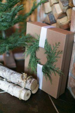 Wreath Box: Homemade Gift Ideas