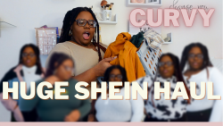 Curvy SHEIN Try-on haul