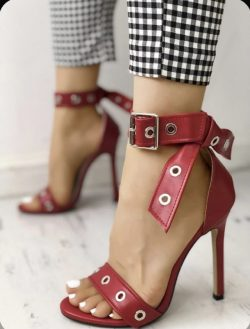 Open toe/Ankle Strap