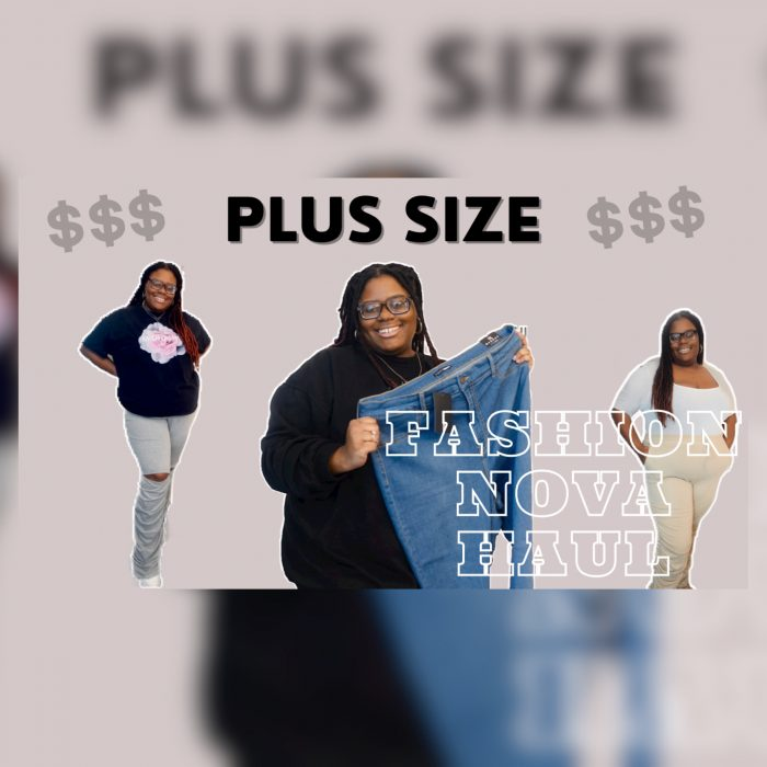 Plus size Fashion Nova Try-on Haul- Stacked Pants
