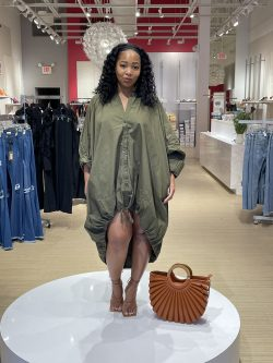 Oversized Spring Dress look