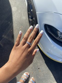 The Go-To: White Nails