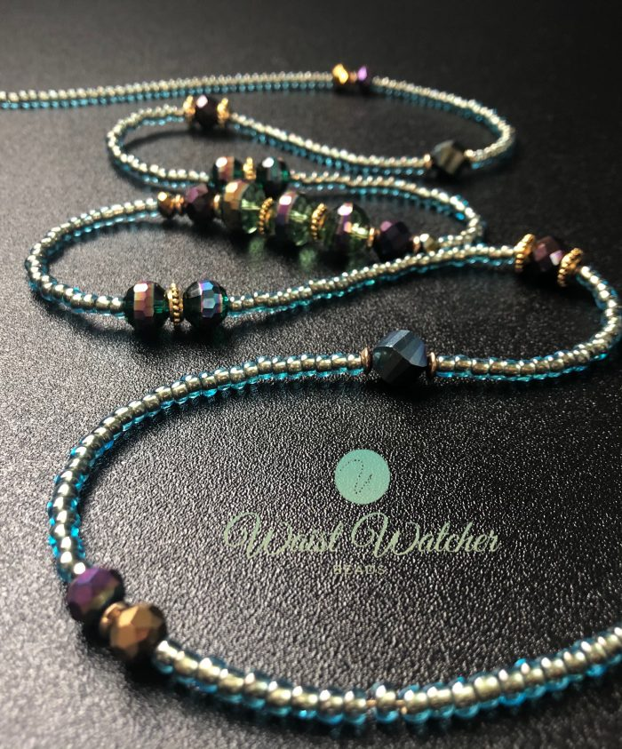 Luxe waist beads