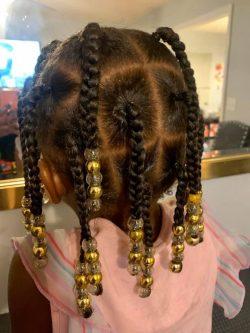 Black Girl Braid Style