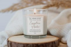 100% Soy Scented Hand poured, Candles