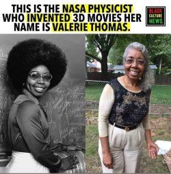 #BlackHistory365 🖤❤️💚 VALERIE L. THOMAS