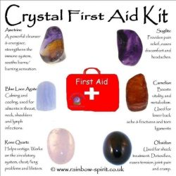 First aid crystals