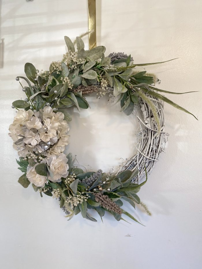 Customized Glam and Chic Door Wreath