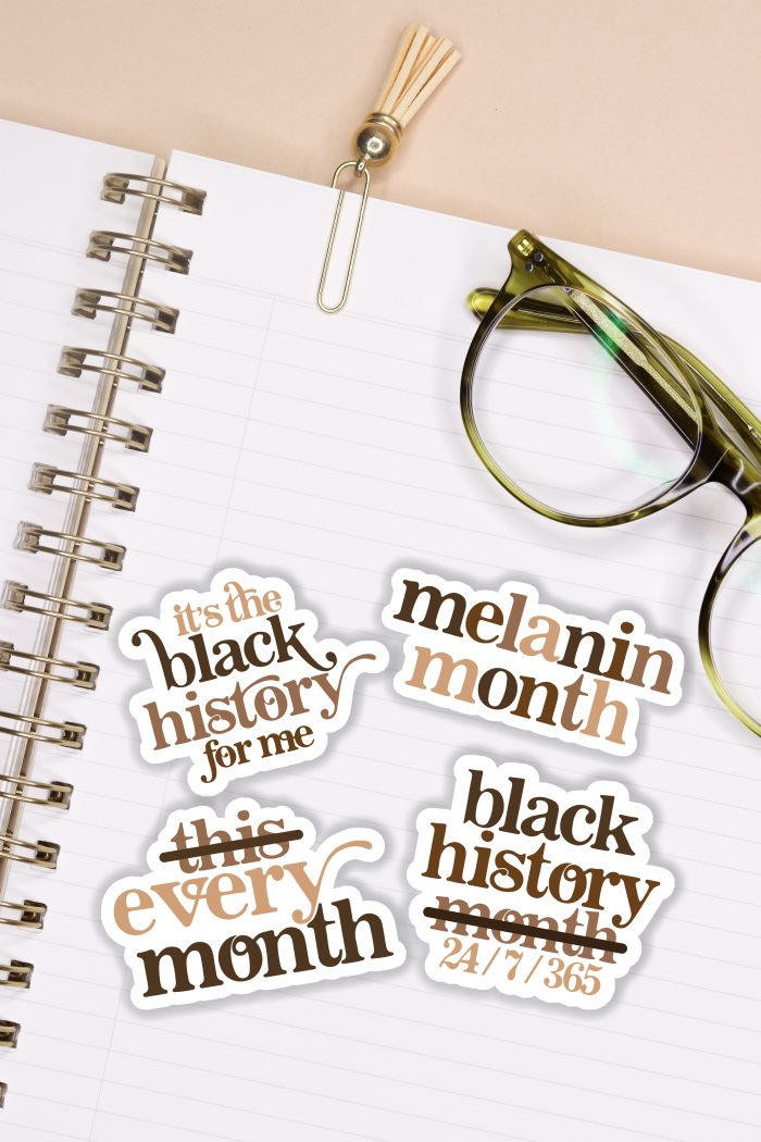Black History Month Stickers