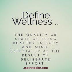 Wellness Defined