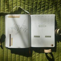 February ~ Bullet Journal