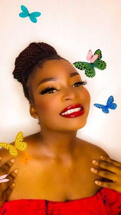 Makeup inspiration by @okpokwujessie on Instagram