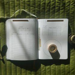 February Finances ~ Bullet Journal 2021