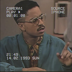 Ron Johnson// 90s Black Men