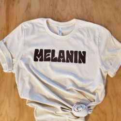 Melanin Soft Tee, Black owned, woman owned