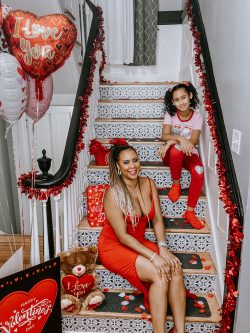Mother-Daughter Valentine's Day Photography