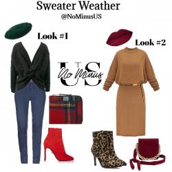 Sweater Weather OOTD Idea
