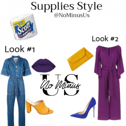 Supplies Stye: Fashion Inspired by quarantine must haves!