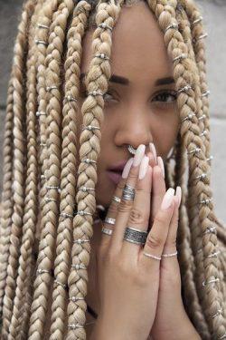 Fancy Hair Rings