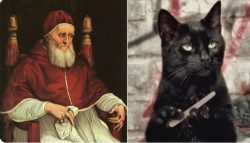 In the 13th century, the Pope declared that black cats were the incarnation of Satan, leading to ...