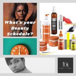 Beauty Skincare Schedule