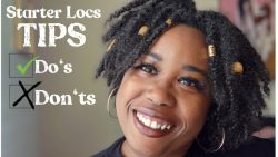 Starter Loc Tips #starterlocs #locd #locs