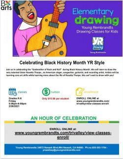 Virtual Black History Art Class