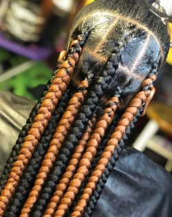 Knotless Box Braids