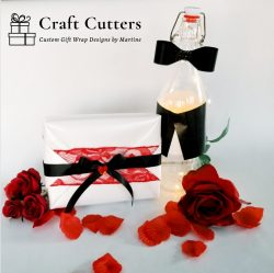 Valentine's Day inspired gift wraps and bottles