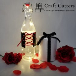 Customize your bottles for Valentine's Day