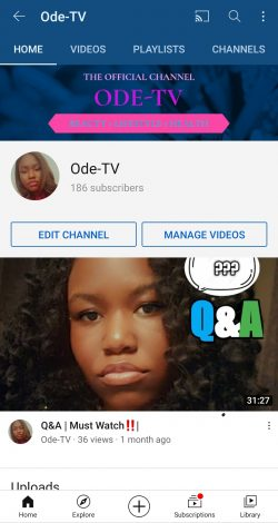 Black Youtubers ⚫ 📹