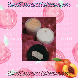 """""""Peach Me Please"""" All Natural Body Butter & Body Scrub Combo!! Brought to you by ..."""