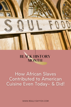 Sundays we have NEW BLOG POSTS!: Black African Slaves Contributed to the American Cuisine Today- ...